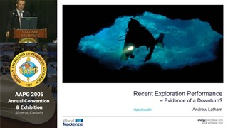Andrew Latham - Recent Exploration Performance: Evidence of a Downturn?
