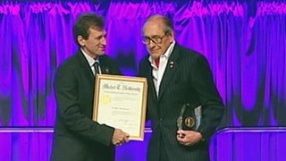 M. Ray Thomasson Receives the 2009 Michel T. Halbouty Award