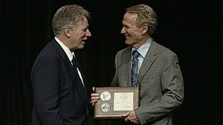 Martin Jackson receives the 2010 Outstanding Research Award