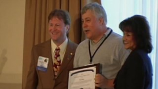 Bob Shoup receives 2010 Jim Hartman Service to Students Award