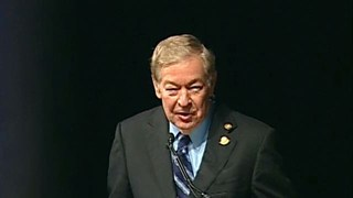 Daniel L. Smith receives the 2011 Michel T. Halbouty Award