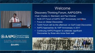 Charles Sternbach - Introductory Remarks, Discovery Thinking Forum, ACE 2014 Houston