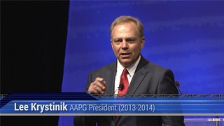 Lee Krystinik, AAPG ACE2014 Presidential Address