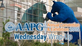 AAPG ACE2015 Wednesday Wrap-Up