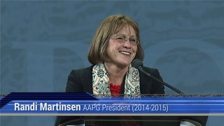 Randi Martinsen, AAPG ACE2015 Presidential Address
