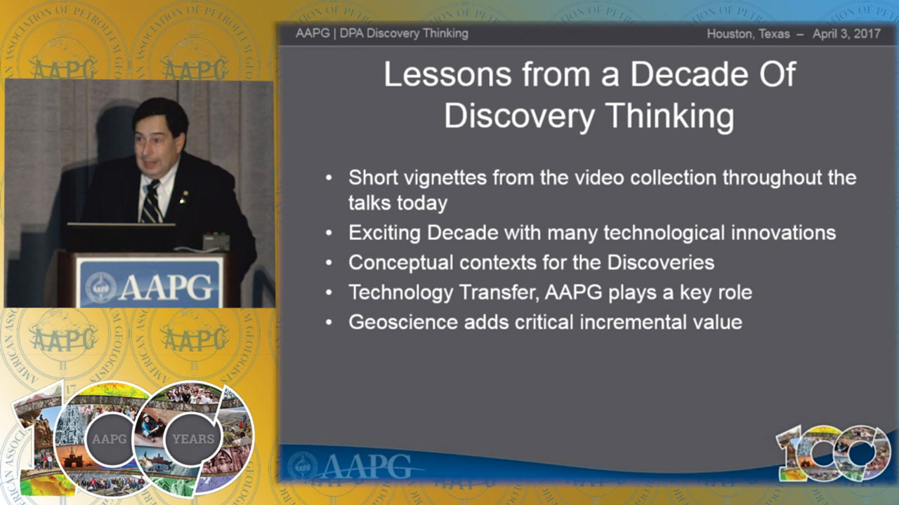 Charles Sternbach - Lessons from a Decade of Discovery Thinking