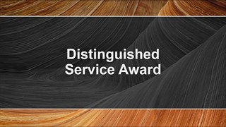 AAPG Distinguished Service Awards at ACE2018
