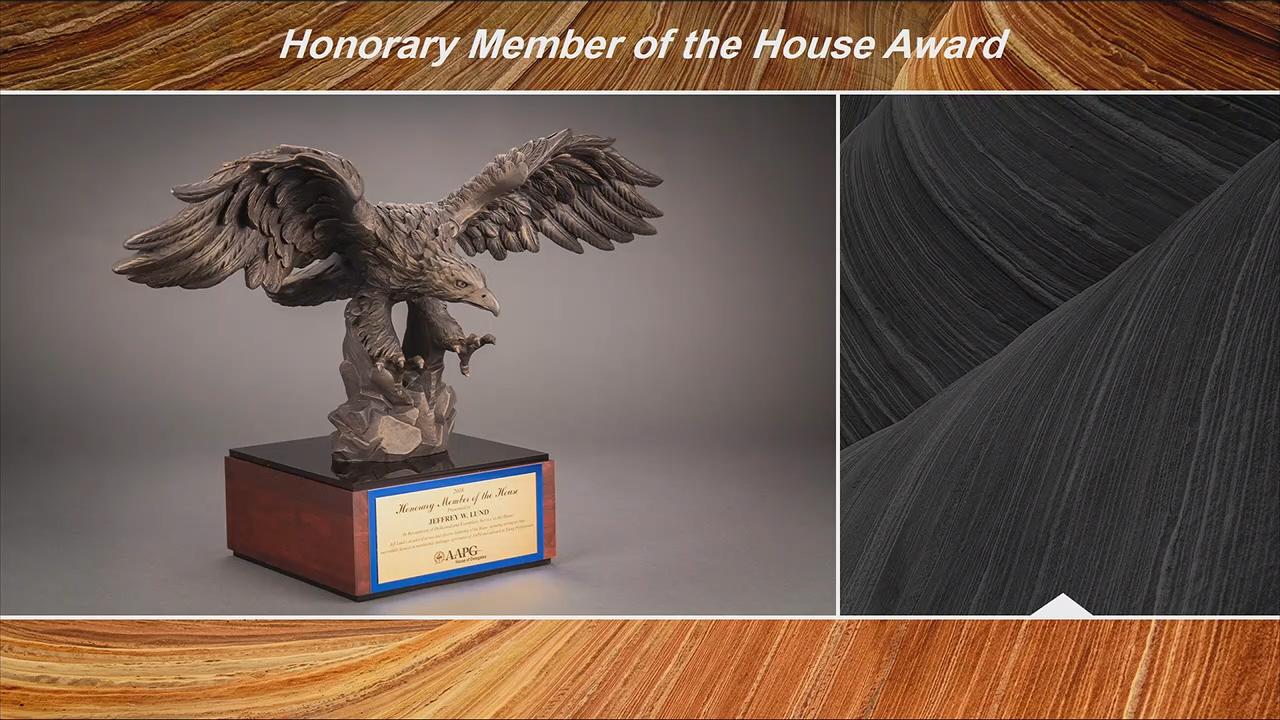 AAPG HoD Honorary Member Awards at ACE2018