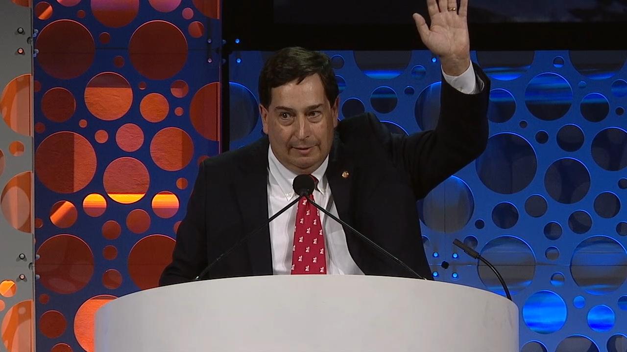 Charles Sternbach, AAPG ACE2018 Presidential Address