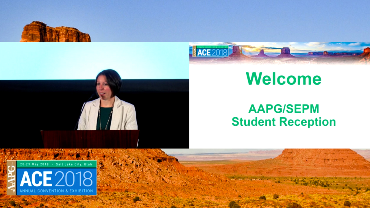 ACE 2018 AAPG/SEPM Student Reception