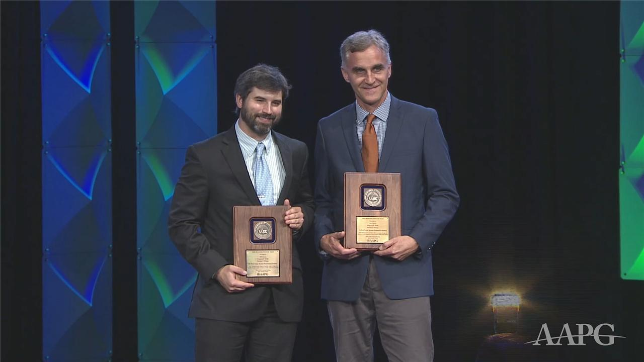 AAPG Jules Braunstein Memorial Awards at ACE2019