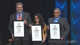 AAPG John W. Shelton Search & Discovery Awards at ACE2019
