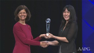 AAPG Young Professionals Exemplary Service Awards at ACE2019