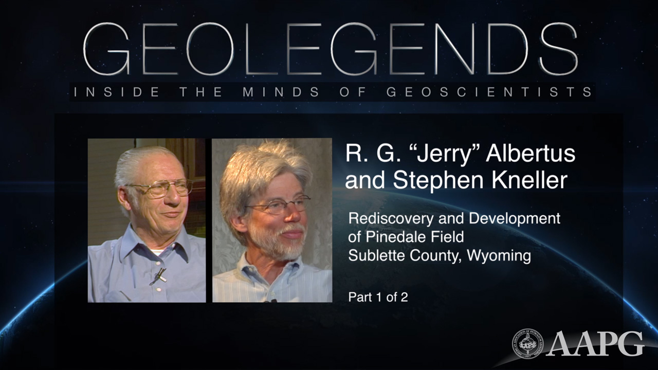 GeoLegends: R.G. 'Jerry' Albertus and Stephen Kneller (Part 1)