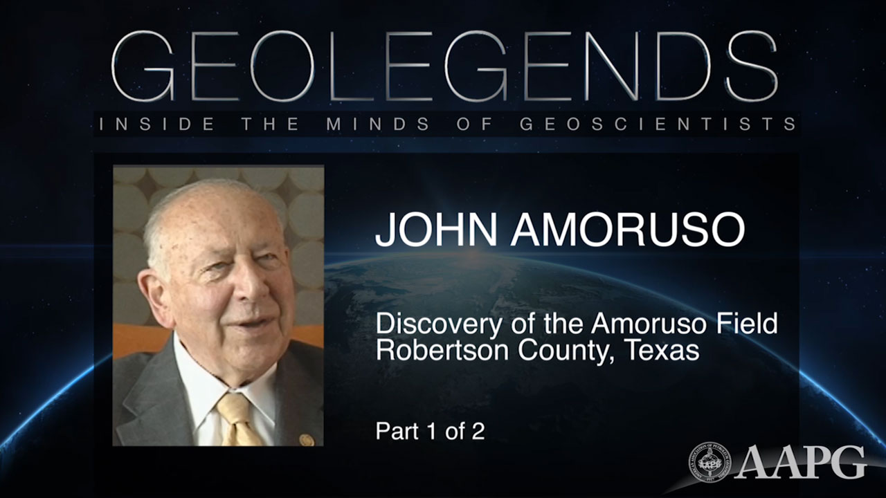 GeoLegends: John Amoruso (Part 1)