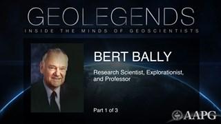 GeoLegends: Bert Bally (Part1)