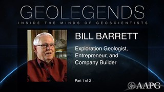 GeoLegends: Bill Barrett (Part 1)