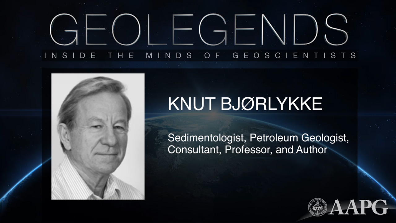 GeoLegends: Knut Bjorlykke
