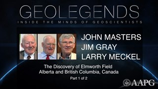 GeoLegends: John Masters, Jim Gray, and Larry Meckel (Part 1)