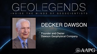 GeoLegends: Decker Dawson
