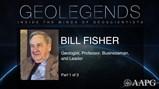 GeoLegends: Bill Fisher (Part1)