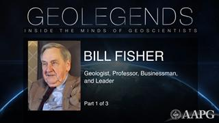 GeoLegends: Bill Fisher (Part 1)