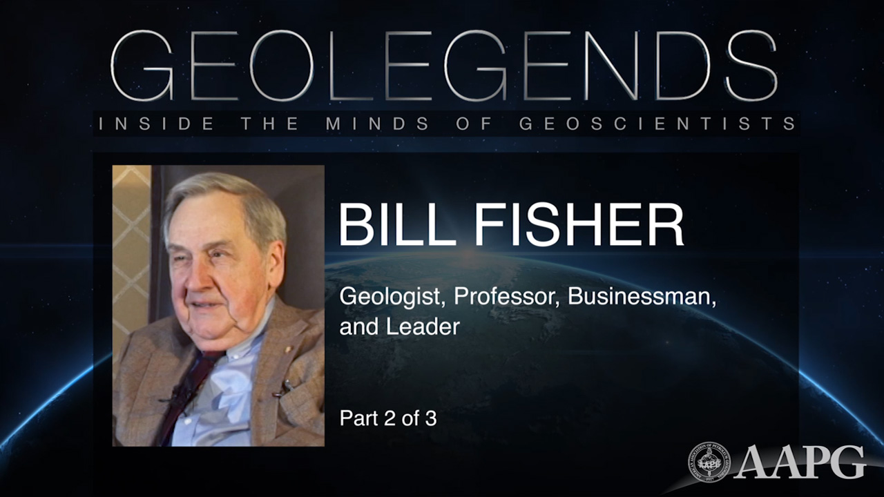 GeoLegends: Bill Fisher (Part 2)