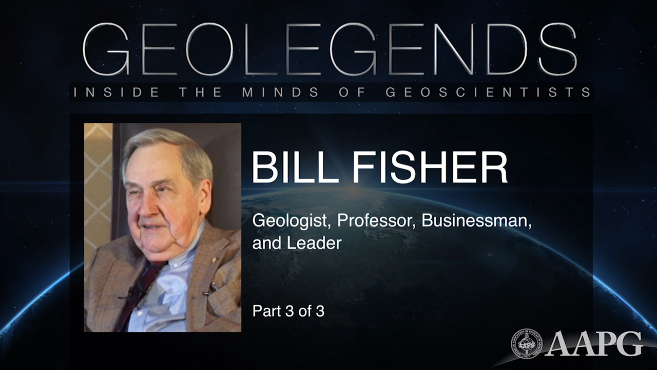 GeoLegends: Bill Fisher (Part 3)