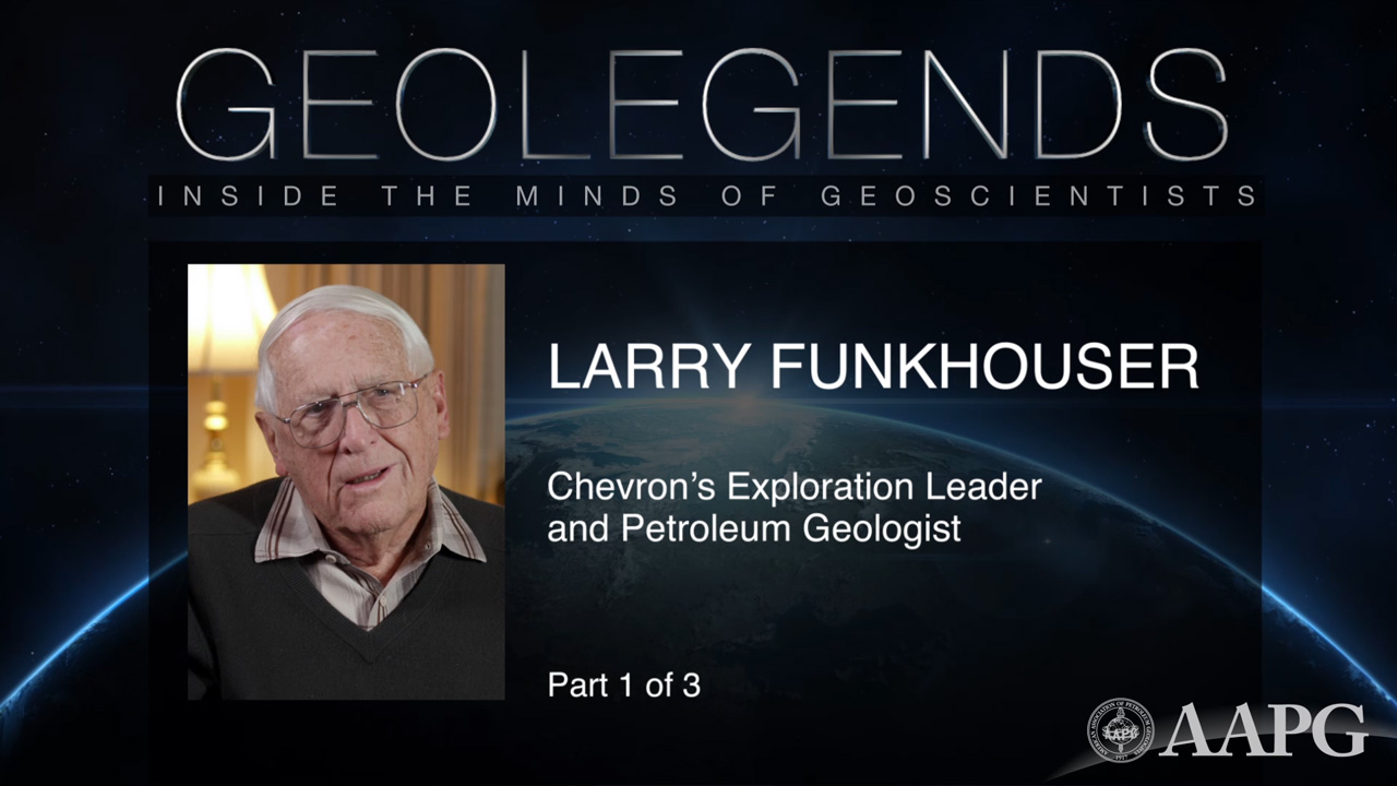 GeoLegends: Larry Funkhouser (Part 1)