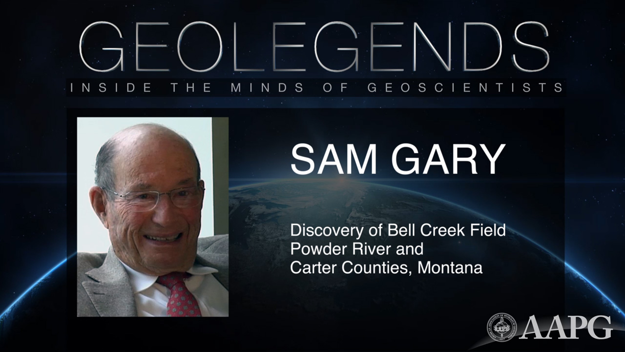 GeoLegends: Sam Gary