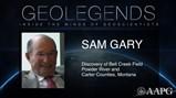 GeoLegends: Sam Gary