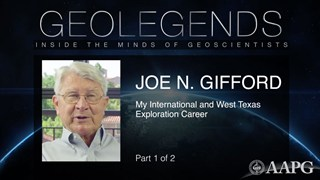 GeoLegends: Joe Gifford (Part 1)