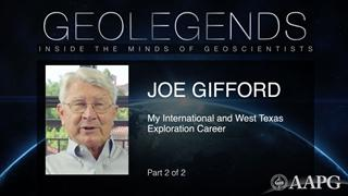 GeoLegends: Joe Gifford (Part 2)