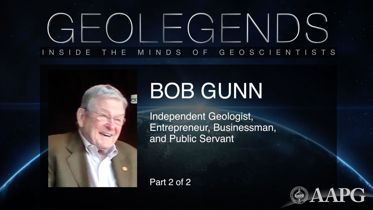 GeoLegends: Bob Gunn (Part 2)