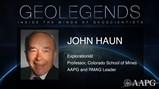GeoLegends: John Haun