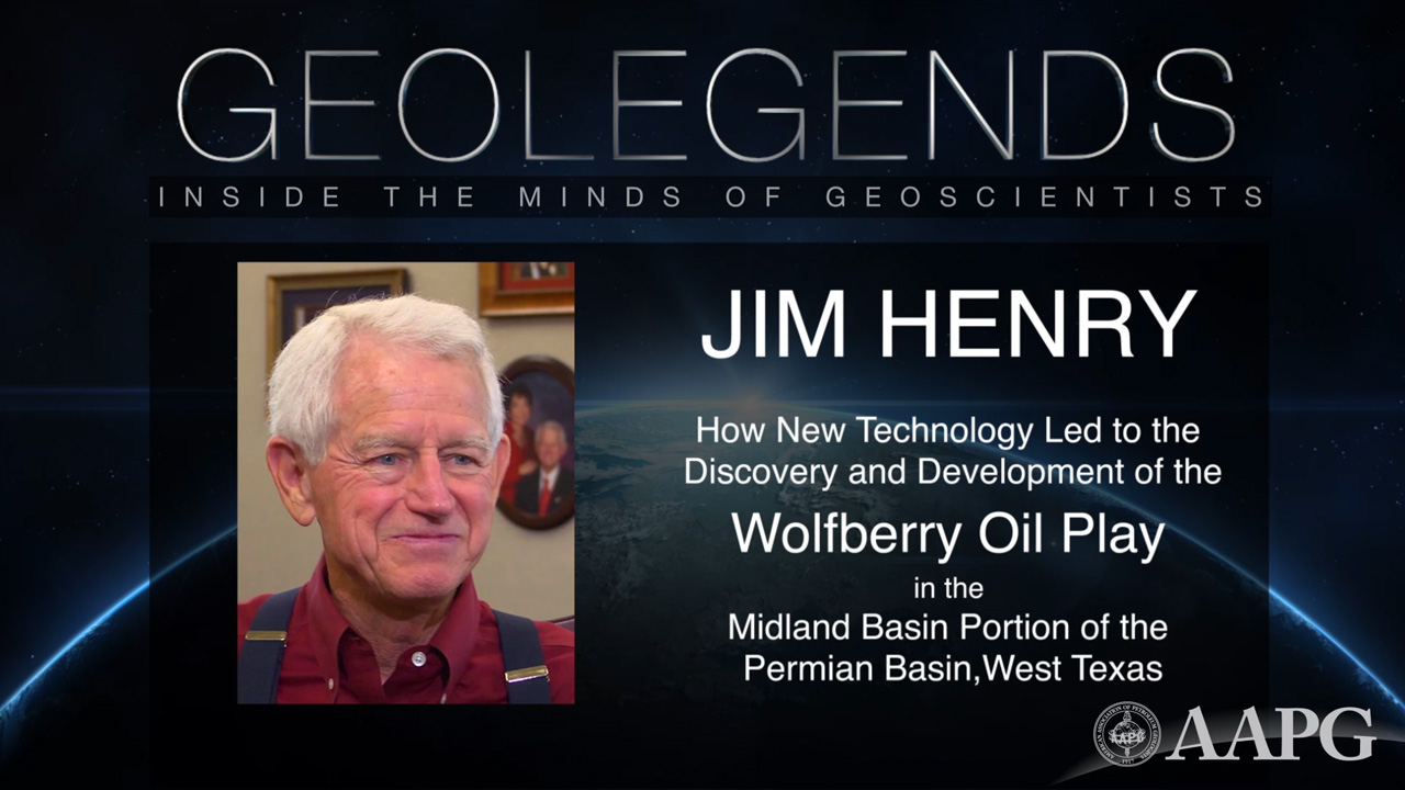 GeoLegends: Jim Henry