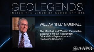 GeoLegends: William 'Bill' Marshall