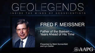 GeoLegends: Fred F. Meissner (presented by Mark Sonnenfeld and Lyn Canter)