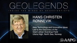 GeoLegends: Hans Christen Ronnevik