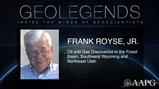 GeoLegends: Frank Royse, Jr.