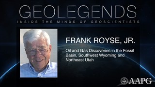 GeoLegends: Frank Royse, Jr.