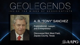 GeoLegends: A.R. 'Tony' Sanchez