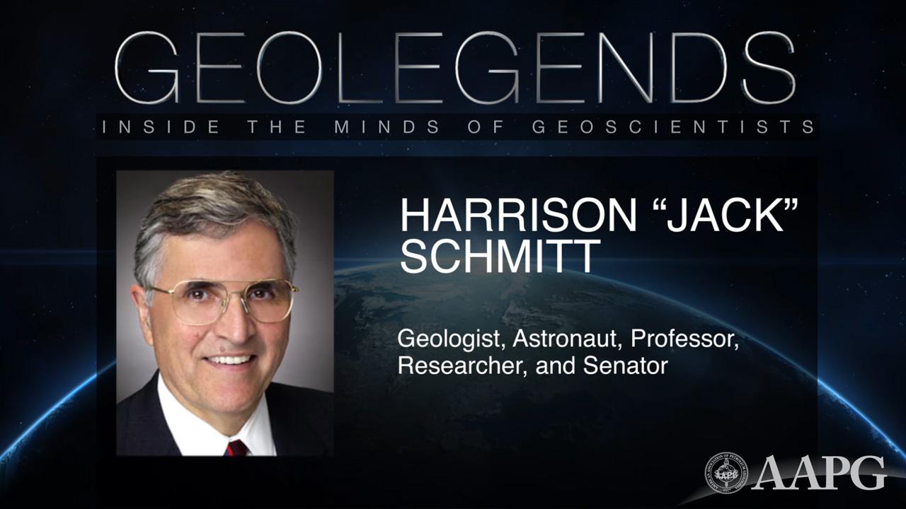 GeoLegends: Harrison 'Jack' Schmitt
