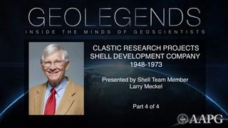 GeoLegends: Larry Meckel (Part4)