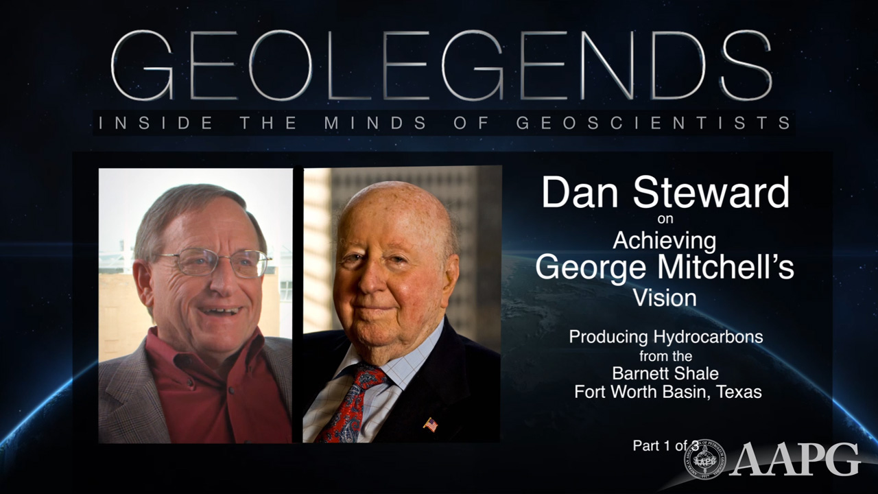 GeoLegends: Dan Steward (Part 1)