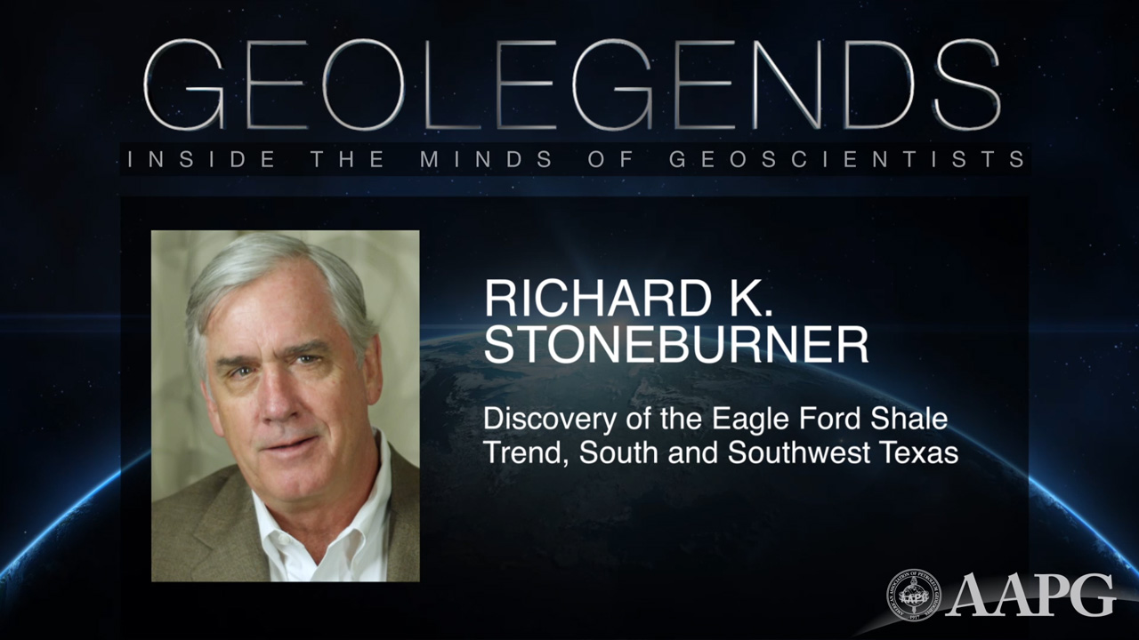 GeoLegends: Richard K. Stoneburner