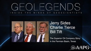 GeoLegends: Jerry Sides, Charlie Tierce, and Bill Tift