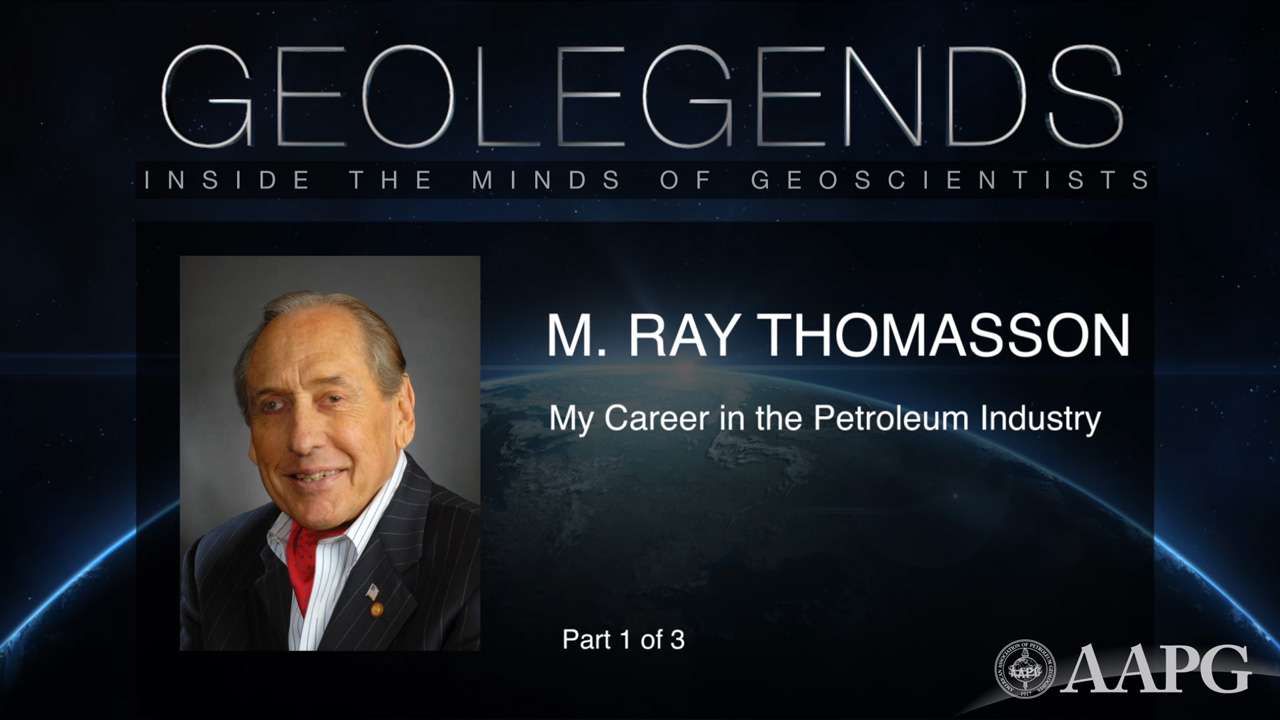 GeoLegends: M. Ray Thomasson (Part 1)
