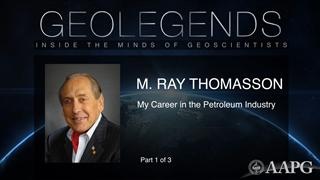GeoLegends: M. Ray Thomasson (Part1)
