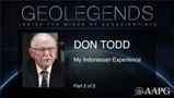 GeoLegends: Don Todd (Part2)